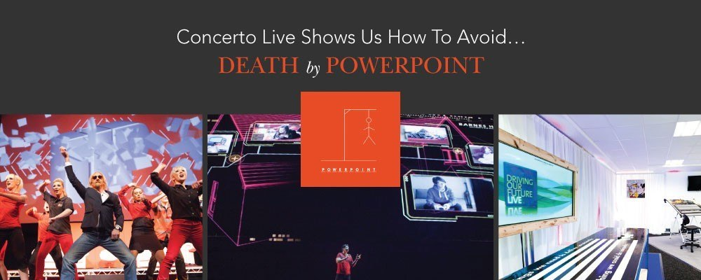 death by powerpoint concerto live