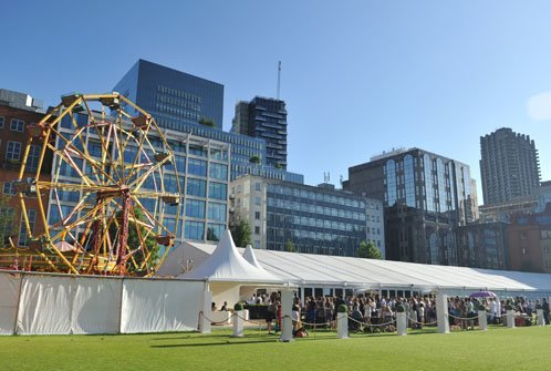 summer party venues london