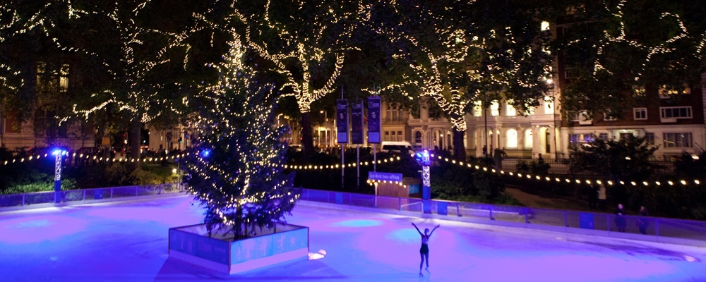 Christmas Ice Skating Rink Decoration.The Ice Rink At The Natural History Museum Returns Concerto