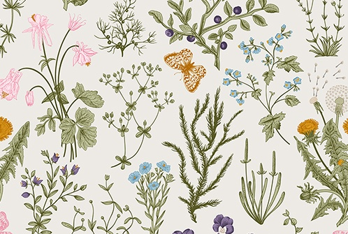 bespoke event ideas botantical floral print